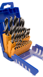 CV Wood Twist Drill Set - Standard Version