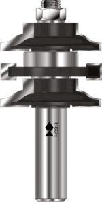 "Double Rail & Stile Cutter – Roman Ogee Type ""B"""